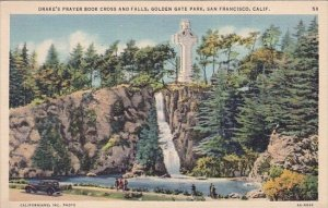 Drakes Prayer Book Cross And Falls Golden Gate Park San Franicsco California