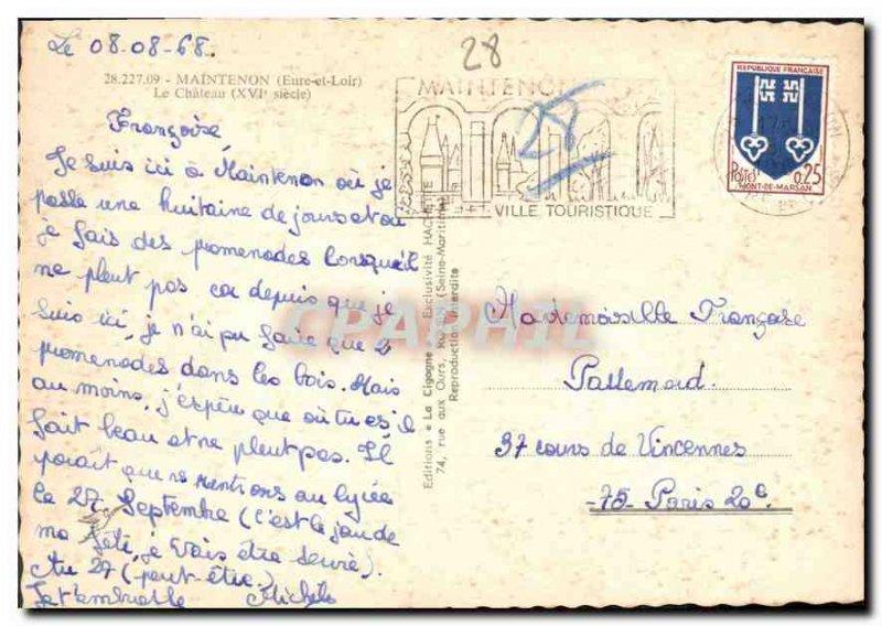 Postcard Modern Maintenon Eure et Loir Le Chateau