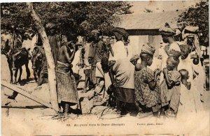 CPA AK Fortier 83 Au puits dans le Cayor SENEGAL (812156)