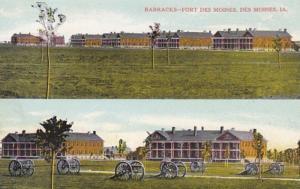 Iowa Des Moines Barracks Fort Des Moines