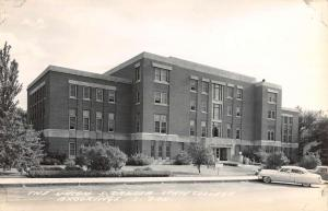 Brookings South Dakota State College Union Real Photo Antique Postcard K82185
