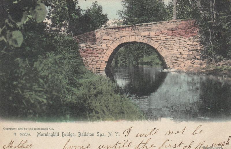 BALLSTON SPA , New York , 1905 ; Morningkill Bridge