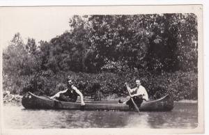 RP: Two Men in canoe, 00-10s