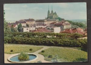 View From The Castle, Petrov, Czechoslovakia - Used 1964
