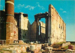 Turkey Postcard Ankara Emperor Auguste Temple
