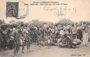 Guinea Conakry Soudan Tam-Tam aus les bords du Bany 1907