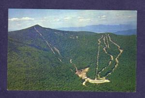VT Killington Basin Ski Lift Slopes Area Sherburne Vermont Postcard Skiing PC