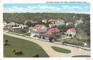 Rehoboth Beach Delaware Cottages Among the Pines Vintage Postcard AA37176