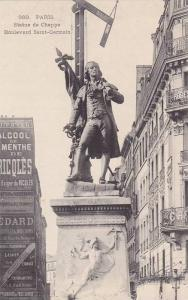Statue De Chappe, Boulevard Saint-Germain, Paris, France, 1900-1910s