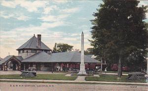 New Hampshire Laconia Boston & Maine Railroad Station