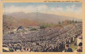 California Hollywood Crowds At The Hollywood Bowl 1939 Curteich