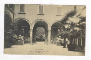 Cour De l'Hotel Brun, XVe Siecle, Bologna (Emilia-Romagna), Italy, 1900-1910s