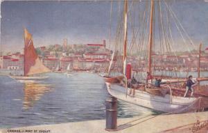 RAPHAEL TUCK,#7445; CANNES, Alpes Maritimes, France, 1900-1910's; Port Et Suquet