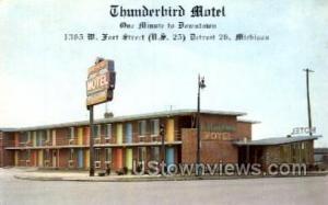 Thunderbird Motel Detroit MI Unused