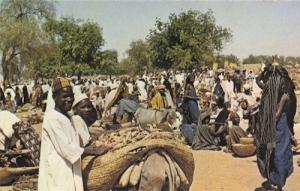 Sokoto Market Africa Nigeria Postcard