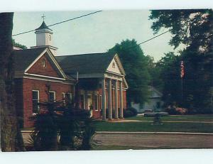 Pre-1980 CITY HALL SCENE Marion South Carolina SC hs6076