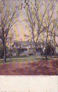 Rest Cottage Home Of Frances Willard Evanston Illinois