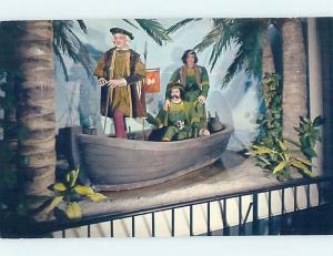 Unused Pre-1980 CHRISTOPHER COLUMBUS AT SMITHSONIAN MUSEUM Washington DC d9353