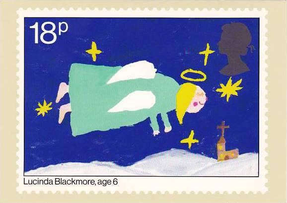 Stamps Christmas 1981 Lucinda Blackmore House of Questa London England