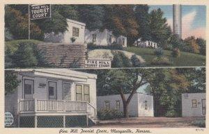 MARYSVILLE , Kansas , 1930-40s ; Pine Hill Tourist Court