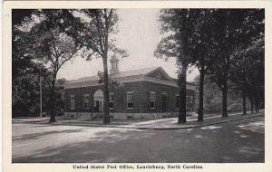 North Carolina Laurinburg United States Post Office