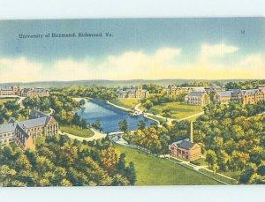 Pre-Chrome UNIVERSITY SCENE Richmond Virginia VA AG9694@
