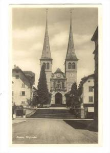 RP;Luzern, Hofkirche , Switzerland, 1910s