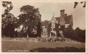 Tanners Manor Sussex Postcard