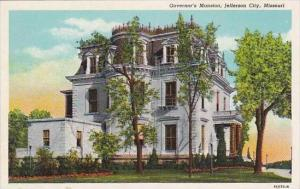 Missouri Jefferson City Governors Mansion