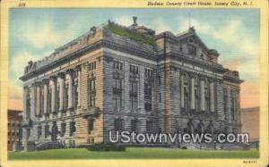 Hudson County Court House Jersey City NJ Unused