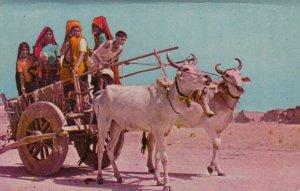 Bullock Cart (India) , 50-70s