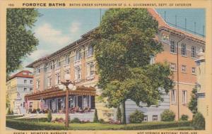 Arkansas Hot Springs Fordyce Baths Curteich