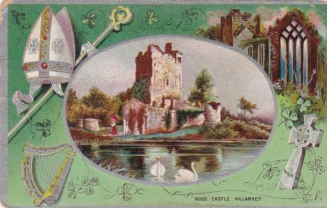 Saint Patrick's Day With Ross Castle Killarney 1910