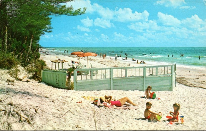 Florida Pass A Grille Beach Sunbathers 1971