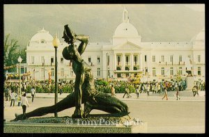 Maron and National Palace, Haiti
