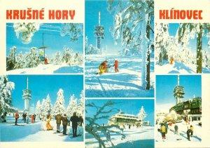 Postcard Europe Czech Republic Krusne Hory