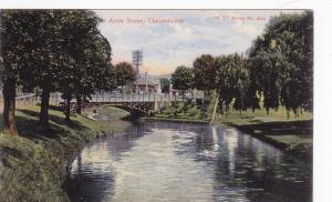 CHRISTCHURCH, New Zealand, PU-1908;  Avon Scene