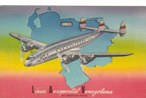 Linea Aeropostal Venezolana Constellation Airplane , Caracas