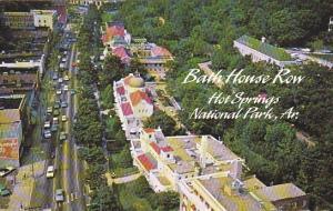 Arkansas Hot Springs Aerial View Bath House Row