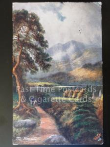 c1905 Tucks Oilette: The Trossachs