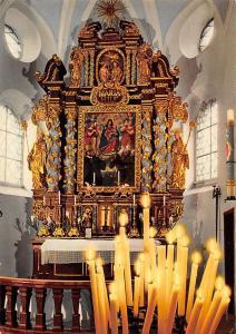 Wallfahrtskirche Maria Eck im Chiemgau Hochaltar mit Gnadenbild