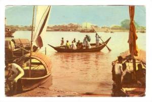 River Scene , East Pakistan,PU-1962