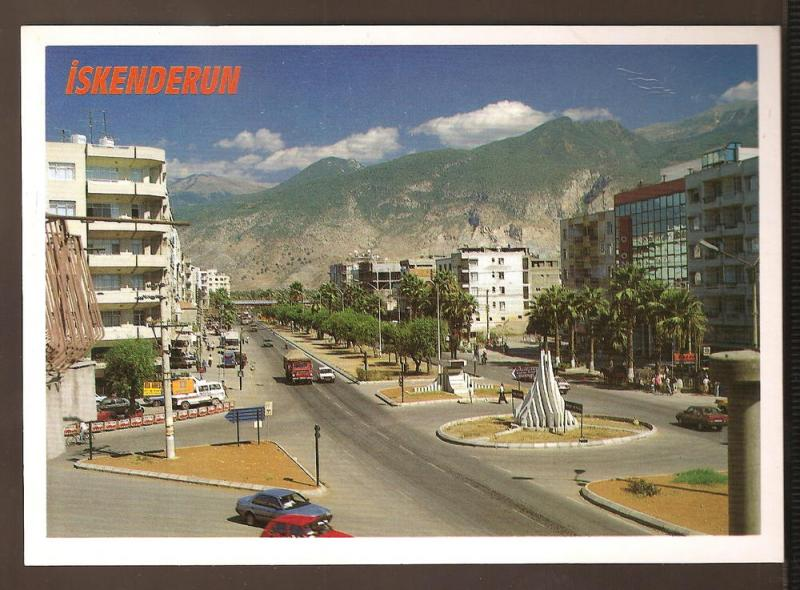 TURKEY LARGE POSTCARD UNUSED ISKENDERUN