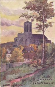 La Cathedrale, Soissons (Aisne), France, 1900-1910s