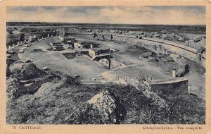Tunisia Carthage L'Amphitheatre - Vue complete 1955