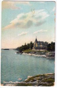 St Lawrence at Brockville, Canada