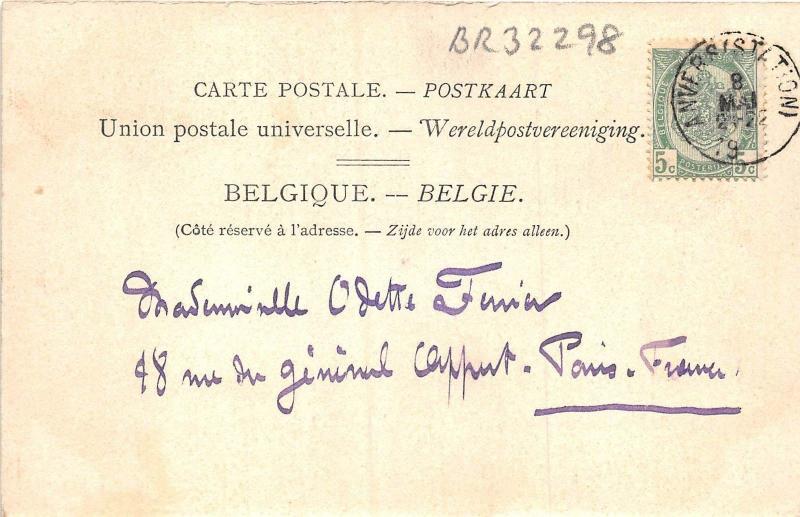 BR32390 Ostende Chalet Royal du cote de la ville belgium