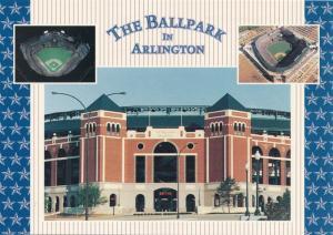 Arlington TX, Texas - Baseball Ballpark - Home of Texas Rangers Baseball Team