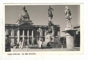 RP  Plaza Murillo, La Paz,. Bolivia, PU 1930s
