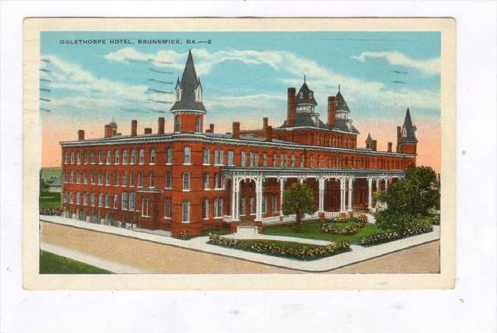 Oglethorpe Hotel, Brunswick, Georgia, PU-1932